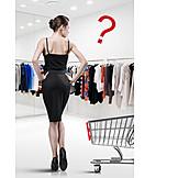 Frau, Mode, Einkauf & Shopping, Outfit
