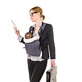 Mutter, Geschäftsfrau, Alleinerziehend, Stress & Belastung, Berufstätig