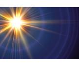 Sun, Light, Star, Space
