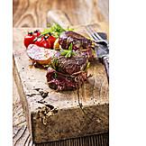 Fleischgericht, Wildfleisch, Lendenstück