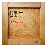 Logistics, Fragile, Chest, Fragile, Goods Transport