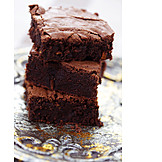 Chocolate cake, Brownie