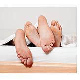Couple, Feet, Relationship