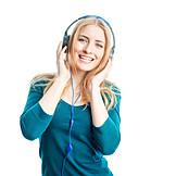 Headphones, Listening music