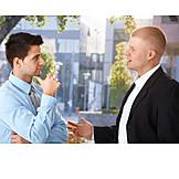 Businessman, Meeting & Conversation, Business Person, Colleagues