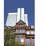 Office building, Contrasts, Frankfurt