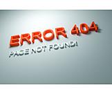 Warning, Internet, Mistake, Error, Error message