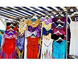 Bekleidung, Handel, Marktstand