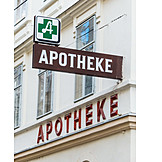 Apotheke, Nasenschild