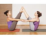 Yoga, Yoga exercises, Partner