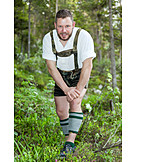 Hiker, Traditional clothing, Bavarian