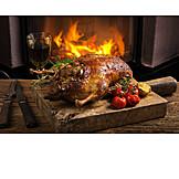 Christmas dinner, French cuisine, Duck meat