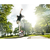 Lifestyle, Jump, Skater, Skateboard, Skateboarding, Skating