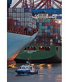 Handel, Frachtschiff, Containerschiff