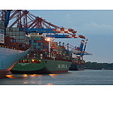 Deal, Container Ship, Transshipment