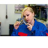 Auszubildende, Handwerkerin, Mechanikerin