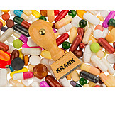 Tablets, Sick, Drugs, Diagnosis