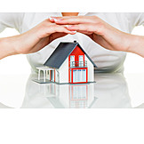 Security & Protection, Property, Insurance, Model House