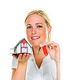 Immobilien, Bausparen, Hauskauf