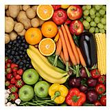 Healthy Diet, Fruit, Vegetable