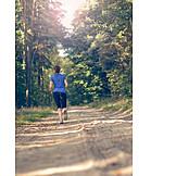 Junge Frau, Sport & Fitness, Joggen, Joggerin