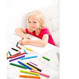 Girl, Fun & Games, Painting