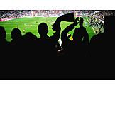 Audience, Stadium, Cheering