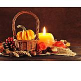 Still Life, Harvest Festival, Autumn Decoration, Thanksgiving