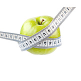 Apple, Diet, Tape Measure
