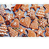 Christmas, Christmas cookies, Gingerbread