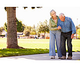 Senior, Paar, Pflege & Fürsorge, Gebrechlich