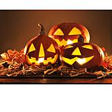 Kürbis, Halloween, Kürbislaterne
