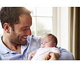 Baby, Vater, Vaterglück