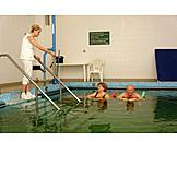 Kur, Krankengymnastik, Wassergymnastik