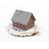 Hausbau, Bausparvertrag, Baufinanzierung
