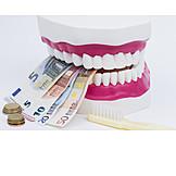 Zahnarzt, Zahnmodell, Zusatzversicherung