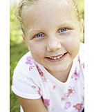 Portrait, 3-8 Years, Girl