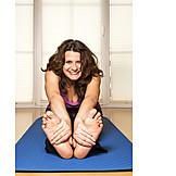 Frau, Sport & Fitness, Dehnen