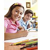 Child, Painting, Drawing, Creativity