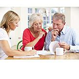 Advice, Last Will, Older Couple