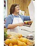 Food, Shop, Sales Executive, Weigh