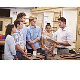 Ausbildung, Auszubildende, Metallbearbeitung, Klempner