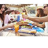 Essen & Trinken, Freundinnen, Mittagessen