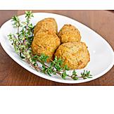 Oriental Cuisine, Falafel, Chickpea Balls