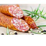 European Cuisine, Smoked Sausage, Raw Sausage