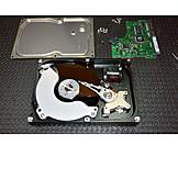 Hard drive, Disk, Cutting