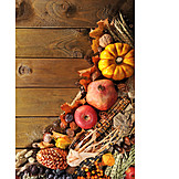 Thanksgiving, Harvest Time, Autumn Decoration