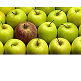 Individualität & Einzigartigkeit, Apfel