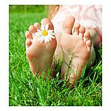 Summer, Barefoot, Feet