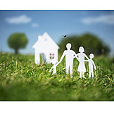 Familie, Eigenheim, Hauskauf